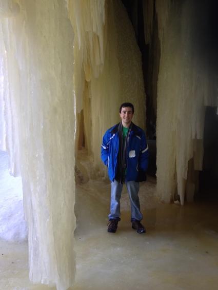 Eben ice caves