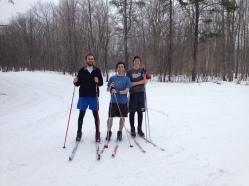 April skiing