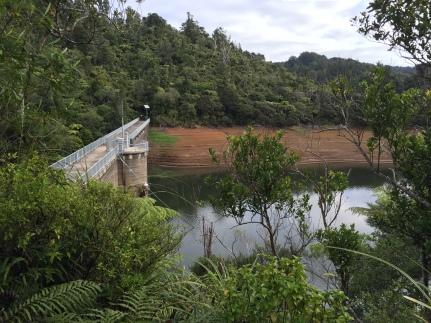 Huia Dam.