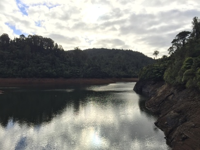 View from the dam