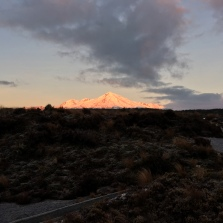 Ruapehu in the morning light