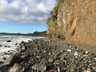 Sometimes I could even get a photo of the scenery that was also a useful picture of the outcrop