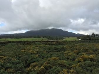 The view of Mt. Taranaki at this stage in the trip