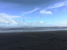 Kite surfing looks fun!