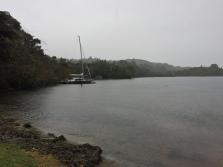 Small inlet on the large Lake Tarawera.