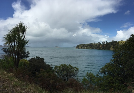 Views of Hauraki Gulf.