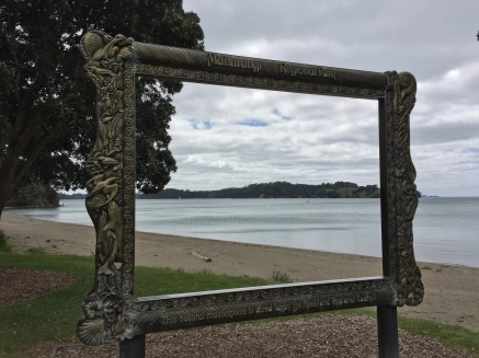 Some of the regional parks have these neat picture frame statues