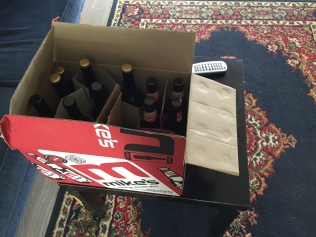 Picked up some good stuff from Mike's, an awesome brewery in Urenui, on Rt. 3 back towards Auckland.