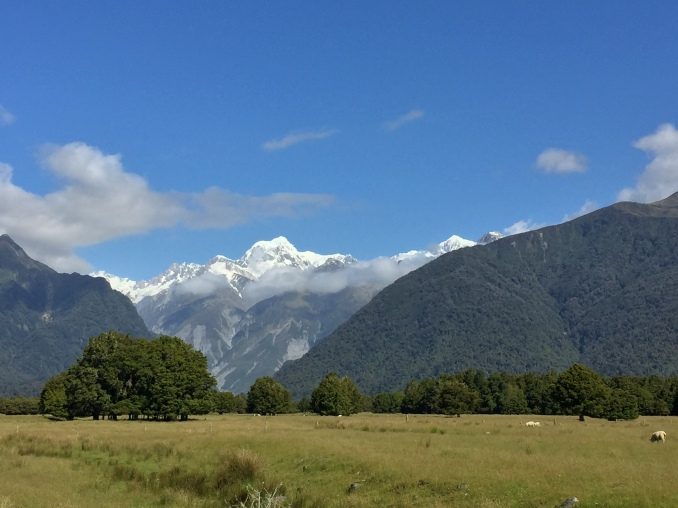 Aoraki. Remember, in NZ lots of things have an English and Maori name, so Aoraki and Mt. Cook are the same peak.