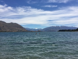 Not a bad view out across Lake Wanaka