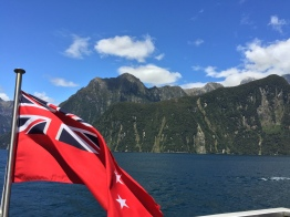 The NZ maritime flag