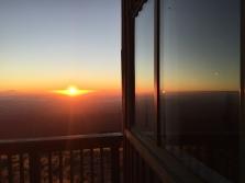 Sunrise the next morning.