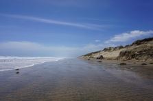 Beach as far as the eye can see...