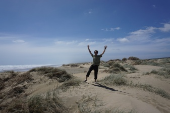 Yay dunes! They seem reasonable in size. I wouldn't say giant, though...