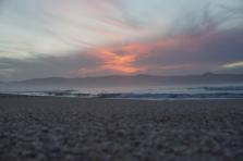 Sunset at Spirits Bay