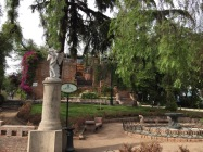 Cerro San Lucia, a nice park on a hill with a hermitage on top and several gardens.