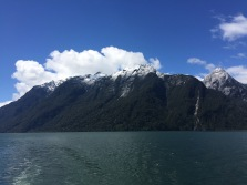 Stunning views along the ferry ride.