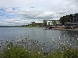 Puerto Varas waterfront along Lago Llanquihue