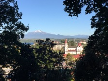 Also had views of Calbuco, and PV's famous church.