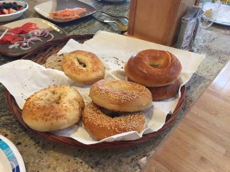 Bagels! As in good ones, not bagel-shaped bread.