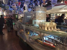 Model trains in Grand Central Terminal in NYC