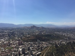 Santiago is surrounded by awesome mountains too.